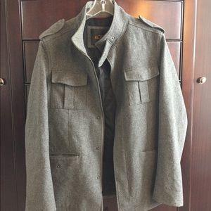 Ben Sherman Gray military jacket